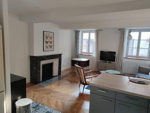 Bel appartement T2 de 60 m² entièrement meublé, au centre de Mazamet.