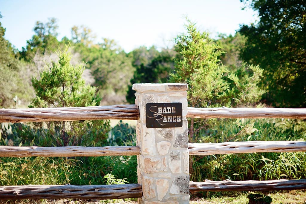 Front Gate of Shade Ranch