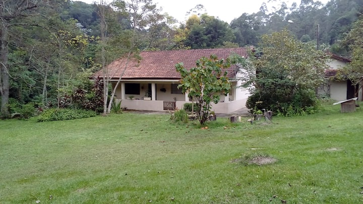 Organic leisure farm in Nazaré Paulista