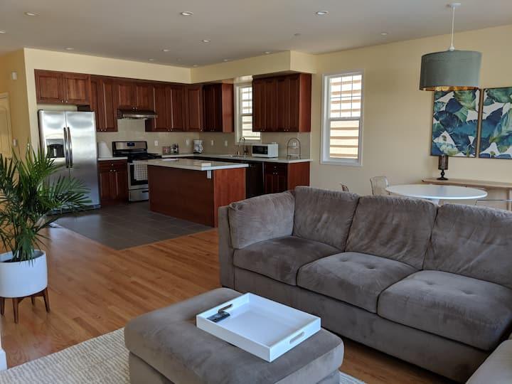 Spacious and Private Apartment near BART/SFO