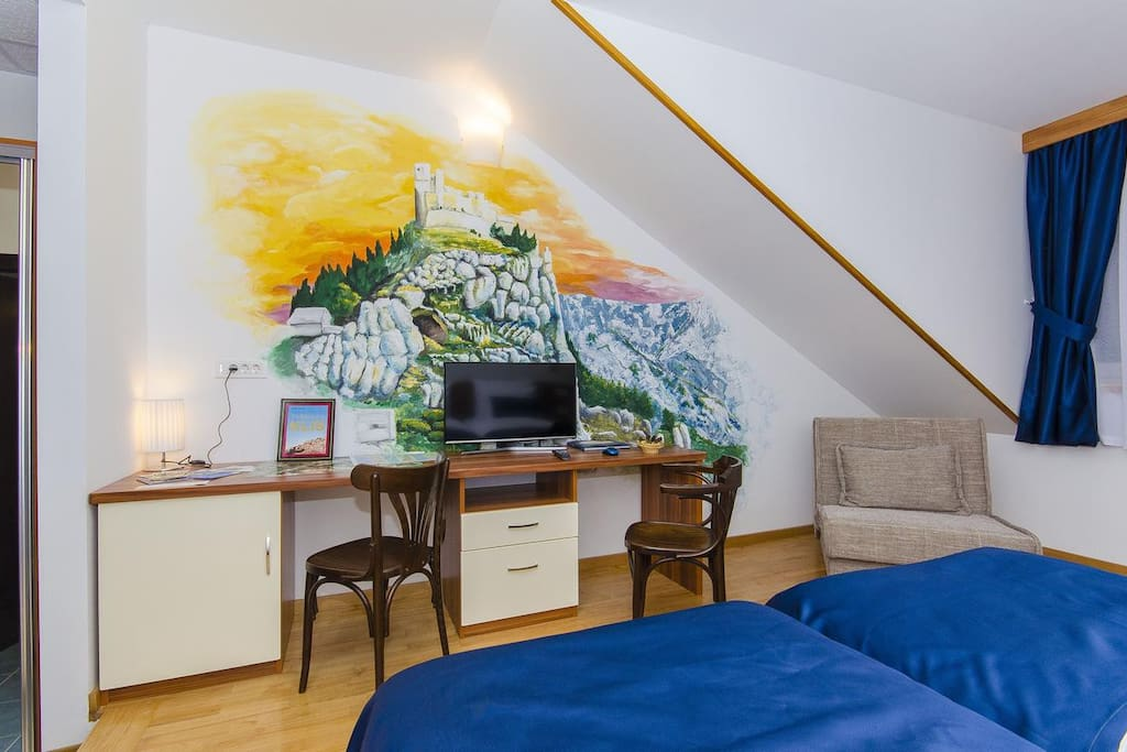 Bedroom, Surface: 26 m²