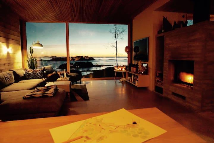 Lun og fin stue