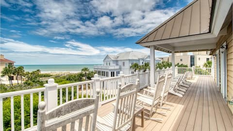 Magnificent Ocean Views and Gorgeous Sunrises in a Sprawling Beach Oasis  Eastland House