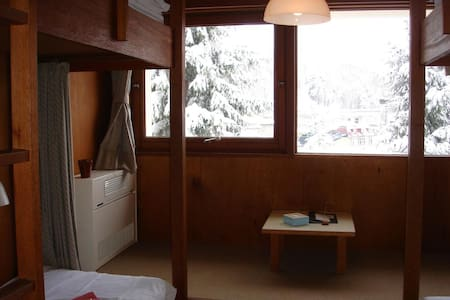 Lodge Scole Room w/ Bunk Beds & Shared Bath TypeC