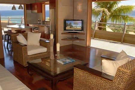 Villa standing Moorea vue mer jacuzzi - Papeari
