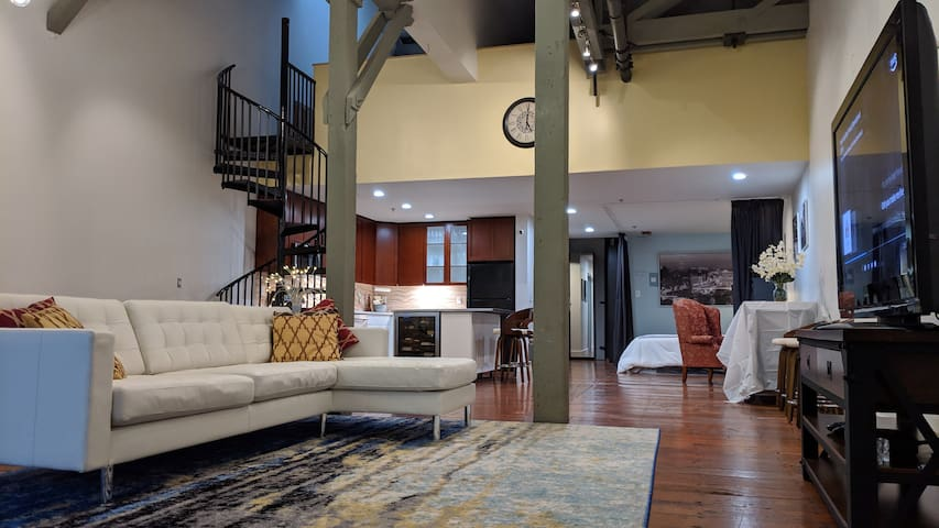 Large Loft in Historical Building