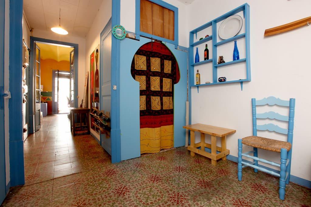 Stanza doppia mercato della boquera appartamenti in for Stanza in affitto barcellona