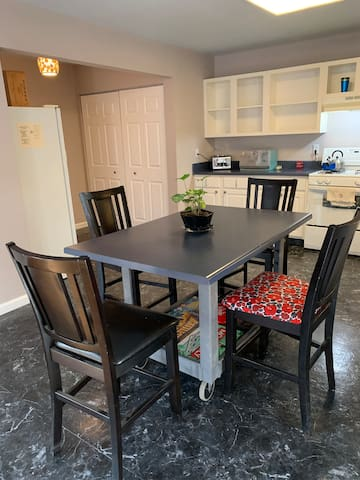 Kitchen Island & Board Games Table
