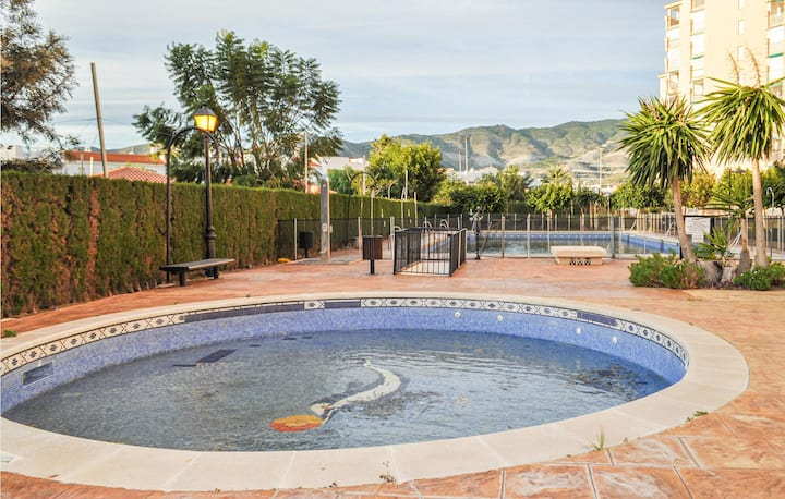 Amazing apartment in Carchuna with Outdoor swimming pool, Outdoor swimming pool and 2 Bedrooms