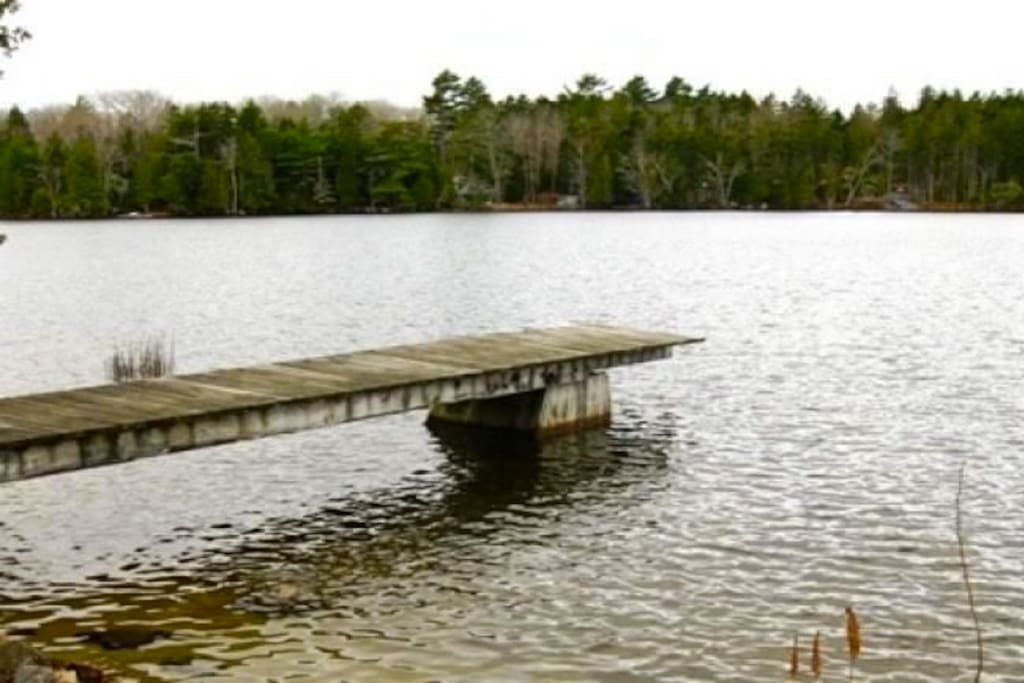 Dock, there is also a floating dock.