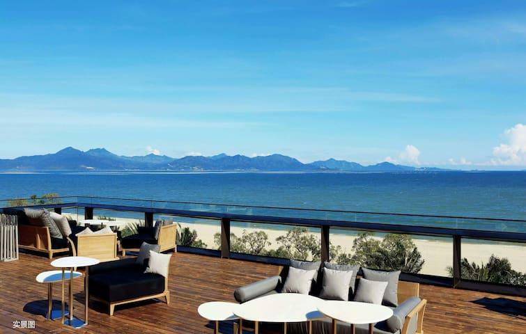 媲美艾美酒店的五星级家庭海边度假屋 - Huizhou - Apartemen