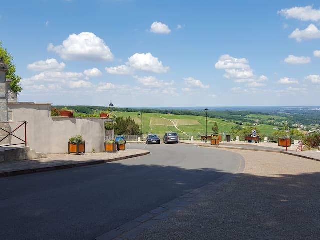 little village Vineyard 150KM to Paris