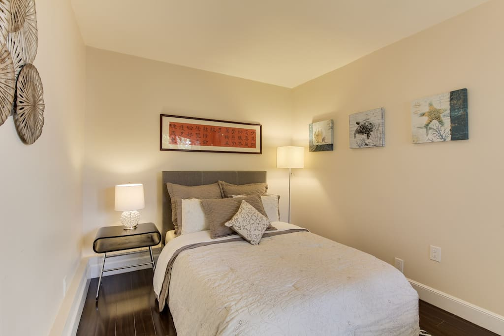 Very bright and spacious bedroom