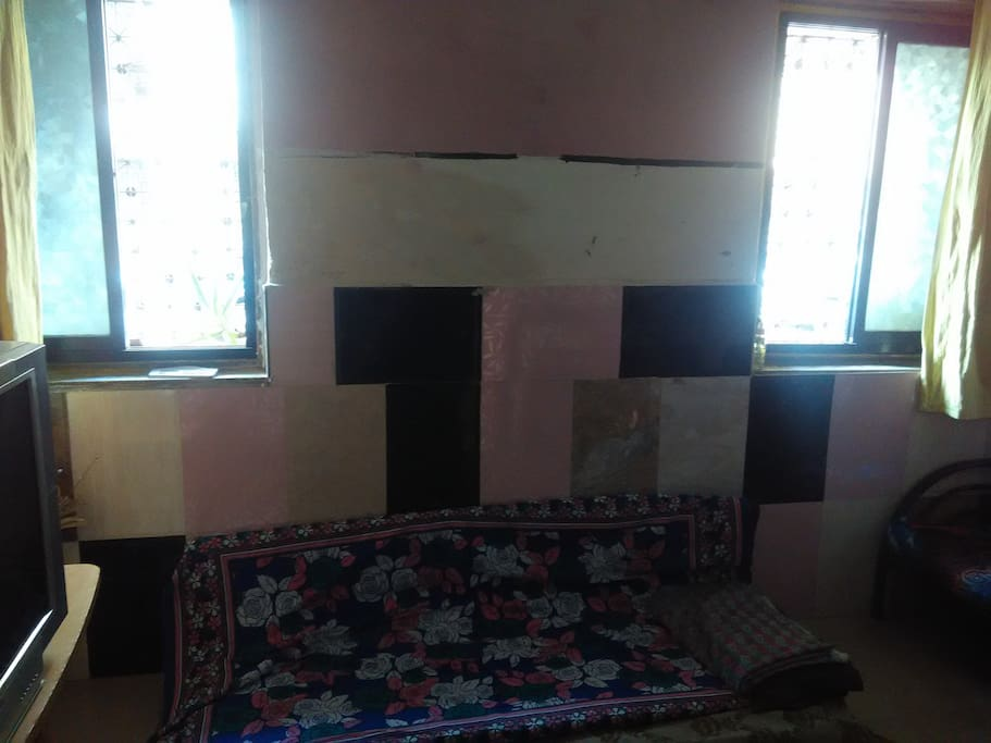 Windows in hall