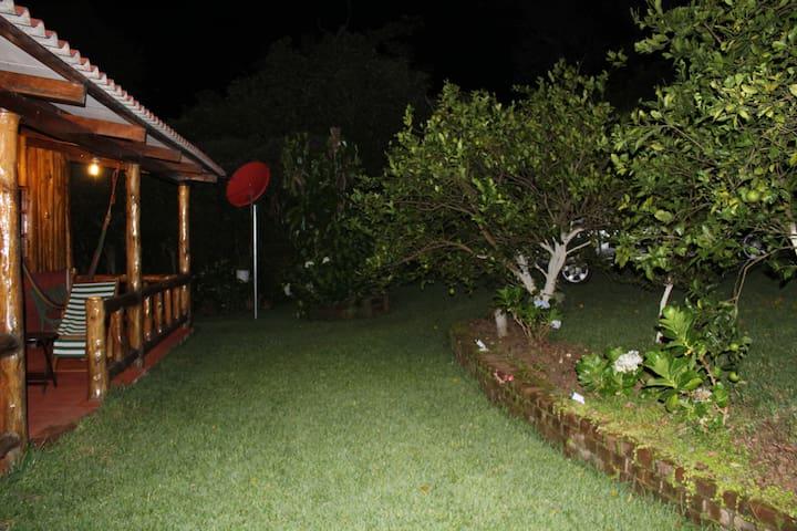 Por la noche, el cantar de los grillos también sirve de relajamiento