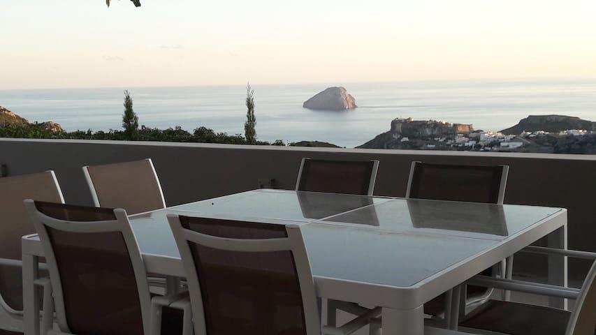 Luxury Villa with amazing sea view in Kythira