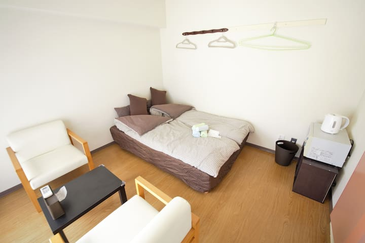ROOM6 at central KYOTO 2stations within 5min walk - 京都市 - Apartamento