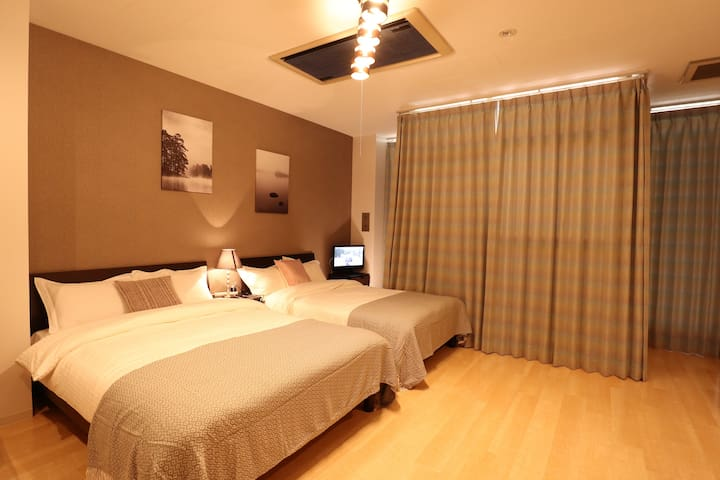 True Inn401#5mins walk from Namba station