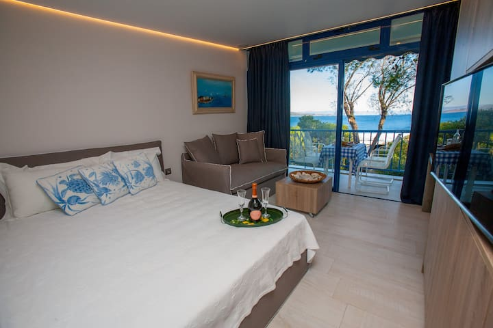 STUNNING Sounio Sea View- 60m from the sea! - Kato Sounio - Apartemen