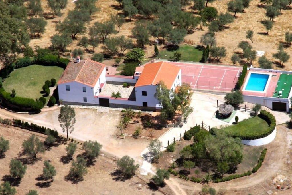 Alan s rural casas en la sierra norte de sevilla houses for rent in alan s andaluc a spain - Hosteria casa adriano alanis de la sierra sevilla ...