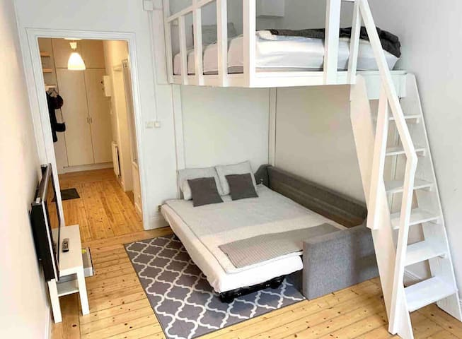 A lovely apartment in city center of Stockholm