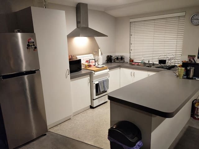 Full size Kitchen. All equipment can be utilised.