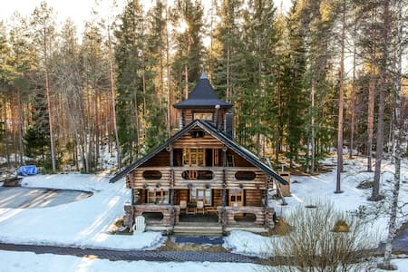 Irene's Villa : Luxury in the woods