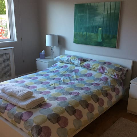 Double  room in modern comfortable home - Saint Andrews - Bungalow