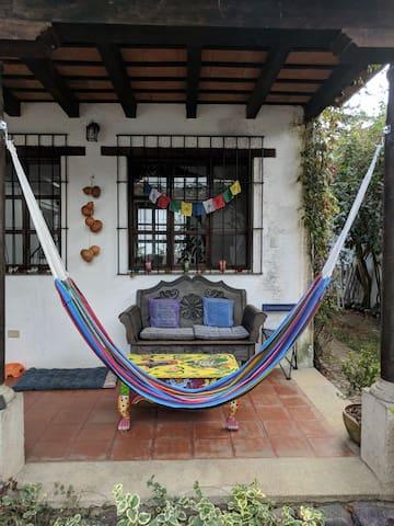Porch w/ hammock