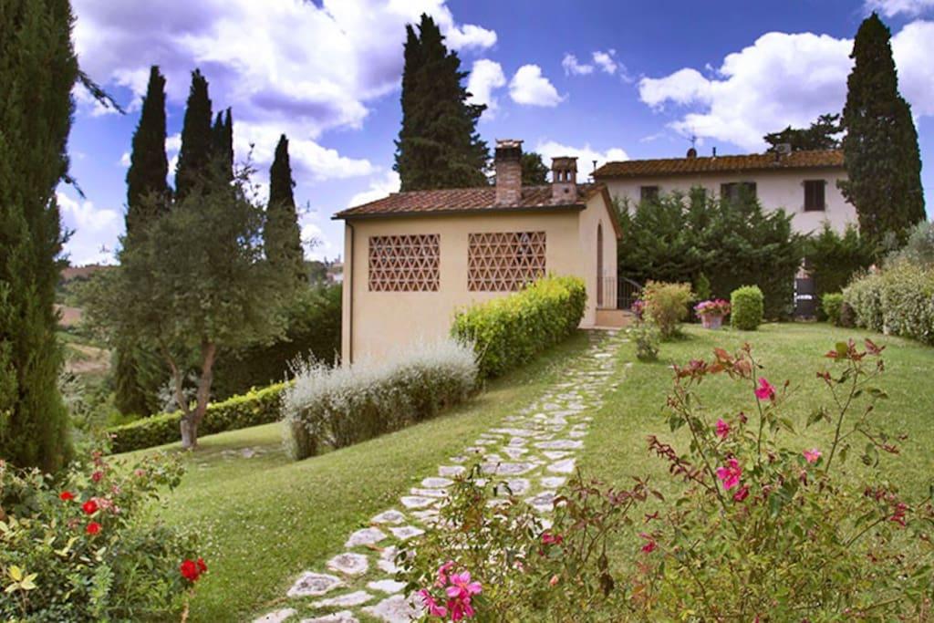 Appartamento in Vecchio Fienile - San Gimignano
