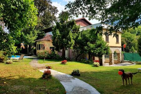 Villa Cesarina,Vallio Terme,Salo'(Camera Gianna)