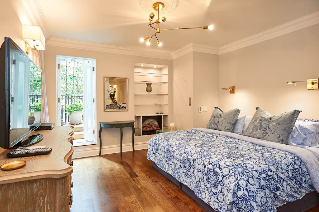 Chelsea 3 bedroom apartment with private garden - 4 bedroom apartments in new york ...