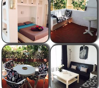 IBIZA, Big Studio, swimmingpool, - Santa Eulària des Riu - Apartmen