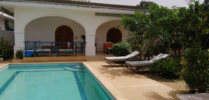 Bungalow close to the beach in La Somone, Senegal