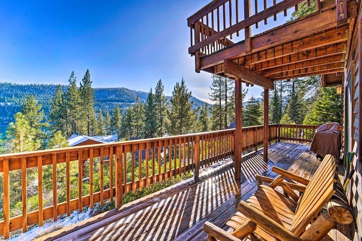 NEW! Peaceful Alpine Getaway w/ Donner Lake Views!