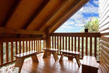 Villa 羿昀居民宿木屋 -雙人房 - Lugu Township - Aamiaismajoitus