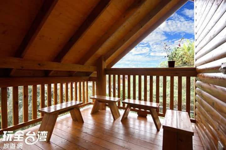 Villa 羿昀居民宿木屋 -雙人房