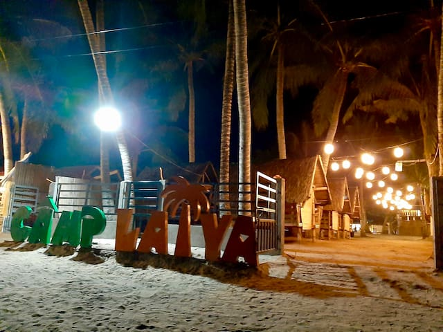 Camp Laiya Beach > Bahay na Bato (D) for 10pax