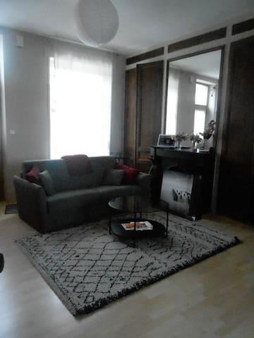 Maison agréable location de chambre 1 ou 2 p - Boulogne-sur-Mer - Reihenhaus