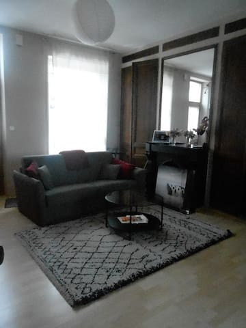 Maison agréable location de chambre 1 ou 2 p - Boulogne-sur-Mer - Casa adossada