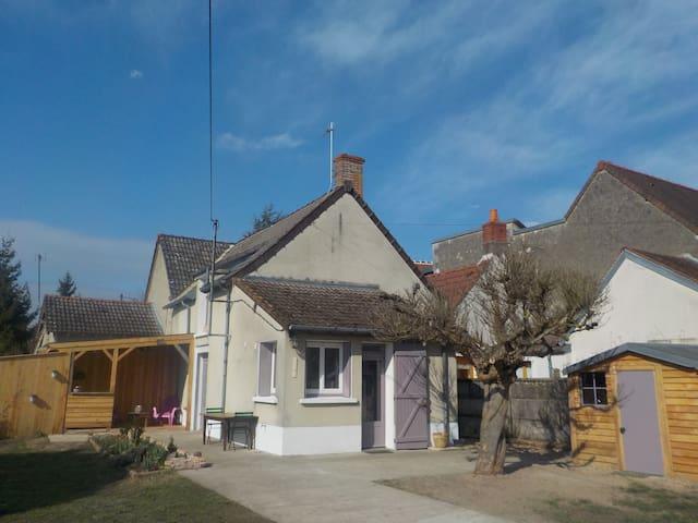 Maison face à la Loire