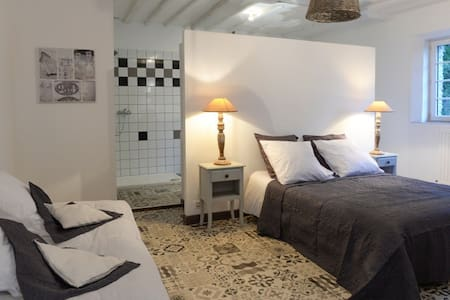 Chambres cosy, chic, tout confort - Villiers-Fossard - 独立屋
