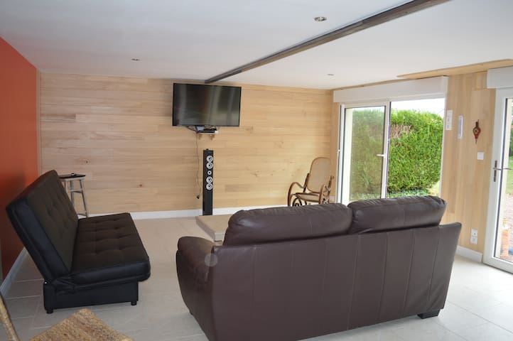Duplex,80m²,Vernoil le fourrier - Vernoil-le-Fourrier - อพาร์ทเมนท์