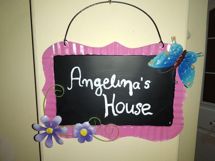 ANGELINA'S HOME  ΟΛΟΚΛΗΡΟΣ ΙΔΙΩΤΙΚΟΣ ΧΩΡΟΣ ΜΕ ΚΗΠΟ