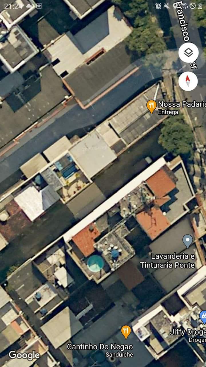 Casa no Maraca, UERJ, c/ vaga e espaço p/ churras