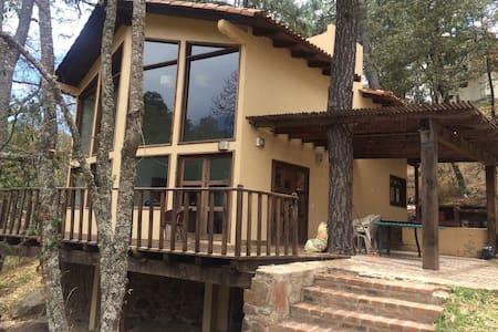 Cabaña frente al lago, en el mejor fraccionamiento - Mazamitla