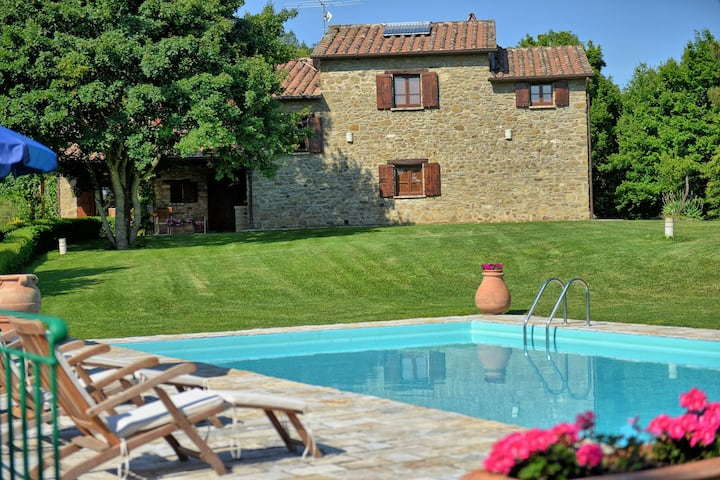 Villa Col di Forche - Country House near Arezzo, Tuscany