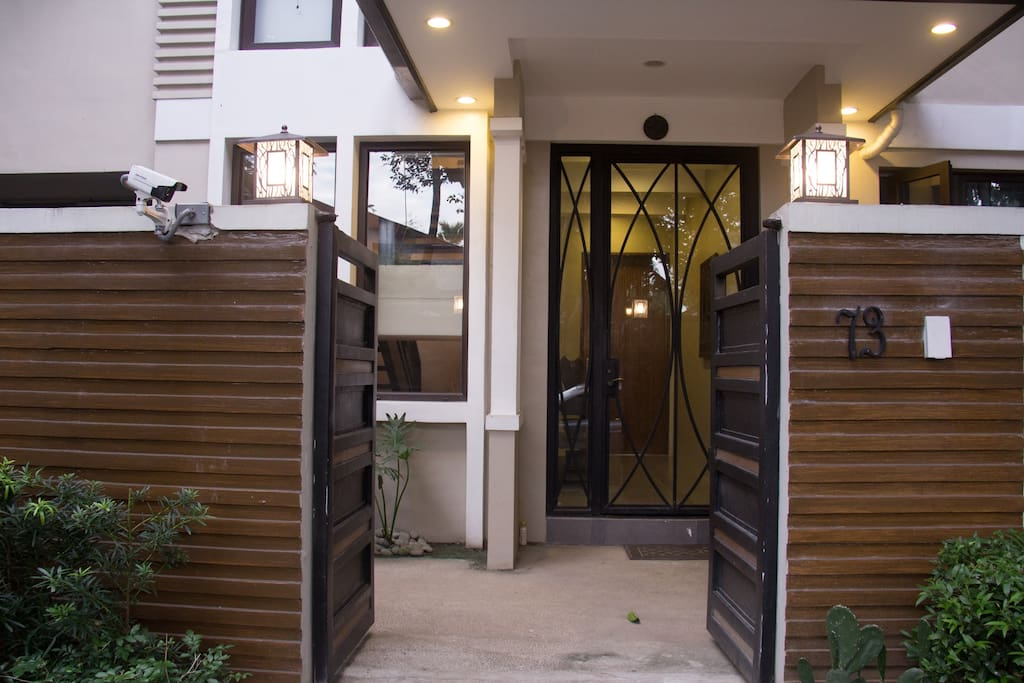 Gated Entrance to Home