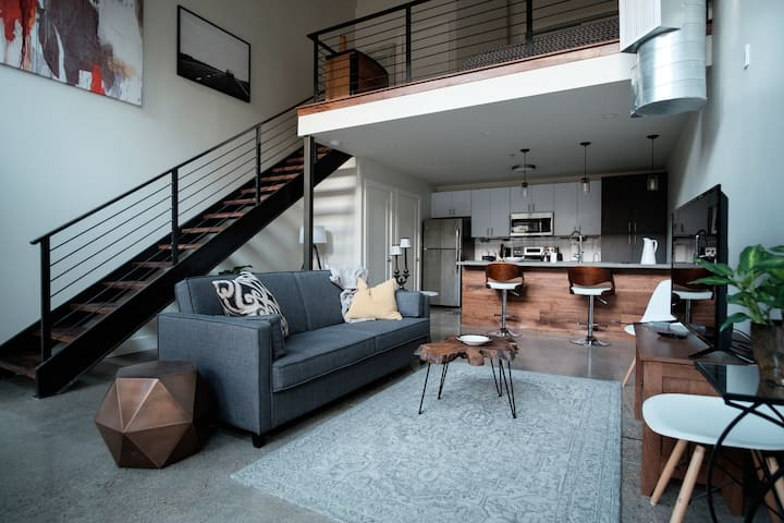 Luxury Loft in Historic Southside District - Chattanooga - Apartemen