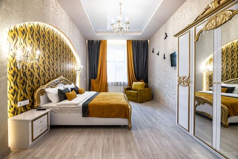 Tykha str. 2 bedroom, city center apartment